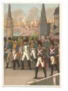 CHROMOS BON POINT GILBERT-CLAREY - 1812 INCENDIE DE MOSCOU - Chromo