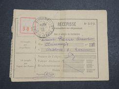 COTE D 'IVOIRE - Récépissé De Colis De Bingerville En 1926 - L 10319 - Côte-d'Ivoire (1892-1944)
