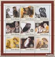 Guinea-Bissau 1428-1436 Sheetlet Unmounted Mint / Never Hinged 2001 Birds - Guinea-Bissau