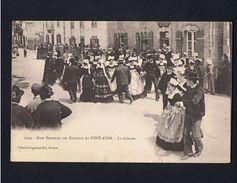 - CPA  -  FINISTERE  -  PONT-AVEN  - Noces Bretonnes : La Gavotte  - - Pont Aven