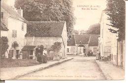 Luzancy - Rue Des Ecoles - France