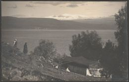 Site For Scots Mission Church, Sea Of Galilee, C.1940s - Matson RP Postcard - Palestine