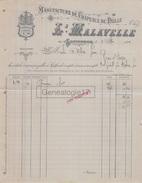 82 238 Z SEPTFONDS TARN GARONNE 1911 Manufacture Chapeaux De Paille L. MALAVELLE A MILOU - France