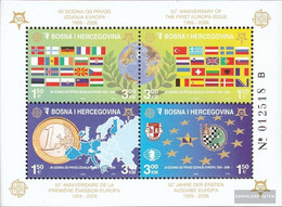 Bosnia-Herzegovina Block27A (complete Issue) Unmounted Mint / Never Hinged 2005 50 Years Europe Trade - Bosnia And Herzegovina
