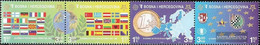 Bosnia-Herzegovina 419A-422A Quad Strip (complete Issue) Unmounted Mint / Never Hinged 2005 Europe Trade - Bosnia And Herzegovina