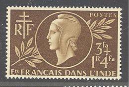 Inde: Yvert N° 233**; MNH; Cote 1.44€ - India (1892-1954)