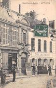 """¤¤  -  ROMILLY-sur-SEINE    -  Le Théatre   -  Le Café Du Théatre  -  L'Epicerie """" COTHENET """"     -  ¤¤ - Romilly-sur-Seine"""