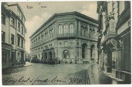 Riga   Borse  P. Used Russia 1904 - Lettonie