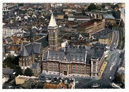 VERVIERS - Vue Aérienne - Palais De Justice - Eglise St-Joseph. - Verviers