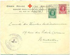 Enveloppe De La Croix Rouge De Belgique - Omslag Van Het Belgische Rode Kruis : 1926 - Non Classés