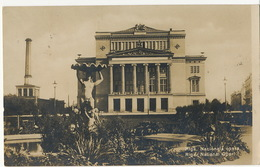 Riga    National Opera  P. Used Riga 1926 - Lettonie