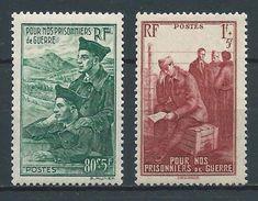 FRANCE 1941 . N°s 474 Et 475 . Neufs ** (MNH) - France