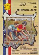 Äquatorialguinea Block72 (complete Issue) Unmounted Mint / Never Hinged 1973 Tour De FRANCE - Equatorial Guinea