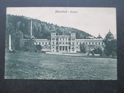 AK 1920 Böhmen / Tschechien / Sudeten. Marienbad - Neubad. Verlag: 1908 Stengel & Co. - Sudeten