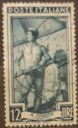 ITALIA 1950 Italy Working. USADO - USED. - 1946-60: Usados