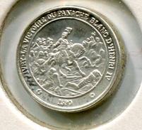 RC 6295 MEDAILLE ARGENT L'HISTOIRE DE FRANCE HENRI IV - France