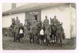 Suisse Army - Cavalerie à Cheval  - Photo - Les Emibois , Mai 1944 - Guerre 1939-45