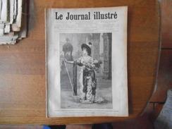 LE JOURNAL ILLUSTRE DU 15 JANVIER 1888 MADAME SARAH BERNHARDT, ECOUEN LES MAISONS D'EDUCATION DE LA LEGION D'HONNEUR,L' - 1850 - 1899