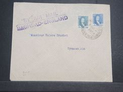 IRAQ - Enveloppe De Baghdad Pour La France En 1931 Par Avion Baghdad / England - L 10340 - Iraq