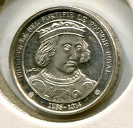 RC 6304 MEDAILLE ARGENT L'HISTOIRE DE FRANCE ROI PHILIPPE IV - France