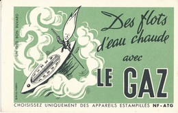 BUVARD - Eau Chaude Avec Le GAZ - Electricity & Gas