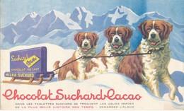 BUVARD - Chocolat SUCHARD - Cocoa & Chocolat