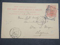GRANDE BRETAGNE - Entier Postal De Londres Pour L 'Algérie En 1897 - L 10347 - Stamped Stationery, Airletters & Aerogrammes