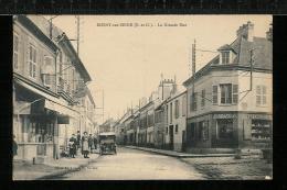 ROSNY SUR SEINE - La Grande Rue - Automobile - Rosny Sur Seine