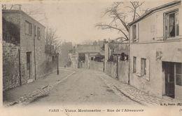 PARIS 18EME - Vieux Montmartre :  Rue De L'Abreuvoir - District 18