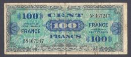 100 Francs FRANCE 1944 - 1944 Drapeau/France
