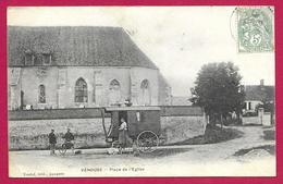 CPA Venouse - Place De L'Église - Other Municipalities
