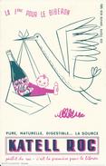 BUVARD - EAU, La Source KATELL ROC - Buvards, Protège-cahiers Illustrés