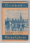GRIEBEN - REISEFÜHRER / KOPENHAGEN Mit NORNHOLM - KOBENHAVN 1936 - Danemark