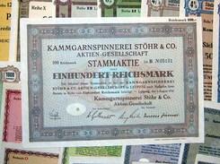 153 Versch. HWPs Aus Sachsen Aus 1924-1943 Deko, 1 Kg - Shareholdings