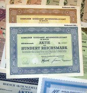 155 Versch. HWPs Aus Nordrhein-Westphalen 1926-96 Deko - Shareholdings