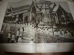 1910 L'ILLUSTRATION:Grandioses Funérailles De S M CHULALONGKORN Roi Du SIAM; Mutinerie Sur Le Navire Sao-Paulo (Brésil) - Journaux - Quotidiens