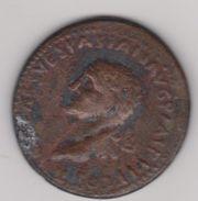 PIECE ANCIENNE POIDS 19 Gr . Diametre 35 Mm . VESPASIAN ?????? - Antiche