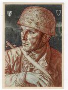 WWII -CARTE POSTALE ORIGINALE  PARA ALLEMAND IIIe REICH LUFTLANDETRUPPEN - 1939-45