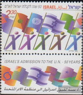 Israel 1515 With Tab (complete Issue) Unmounted Mint / Never Hinged 1999 United Nations - Israel
