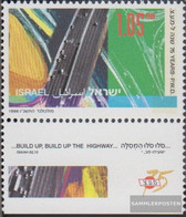 Israel 1406 With Tab (complete Issue) Unmounted Mint / Never Hinged 1996 Office For Public Construction - Israel
