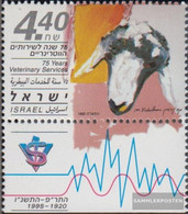 Israel 1348 With Tab (complete Issue) Unmounted Mint / Never Hinged 1995 Veterinärmedizinischer Service - Israel