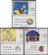 Israel 1336-1338 With Tab (complete Issue) Unmounted Mint / Never Hinged 1995 Nursery Rhymes - Israel