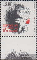 Israel 1300 With Tab (complete Issue) Unmounted Mint / Never Hinged 1994 Against Violence - Israel