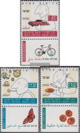Israel 1291-1293 With Tab (complete Issue) Unmounted Mint / Never Hinged 1994 Gesundheitsvorsorge - Israel
