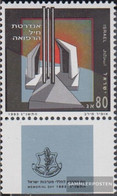 Israel 1260 With Tab (complete Issue) Unmounted Mint / Never Hinged 1993 Fallen-Commemoration - Israel