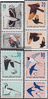 Israel 1248-1251 With Tab (complete Issue) Unmounted Mint / Never Hinged 1992 Songbirds - Israel
