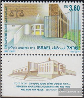 Israel 1239 With Tab (complete Issue) Unmounted Mint / Never Hinged 1992 Court-Building - Israel