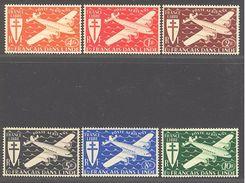 Inde: Yvert N° A 1/6**; MNH; Cote 12.50€ - India (1892-1954)