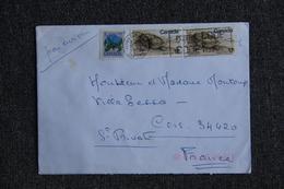 Lettre Du CANADA Vers FRANCE - 1952-.... Règne D'Elizabeth II
