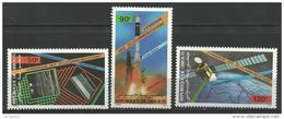 "Djibouti Aerien YT 219 à 221 "" Télécommunications "" 1985 Neuf** - Djibouti (1977-...)"